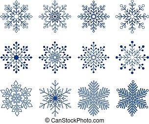 קבע, וקטור, פתיתת שלג