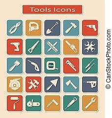 קבע, כלים, איקונים