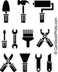 קבע, כלים