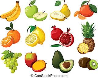 קבע, fruit., טעים, הפרד
