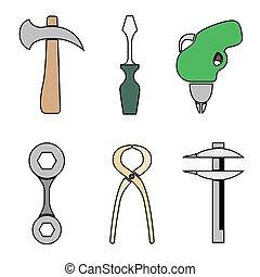 קבע, tools.