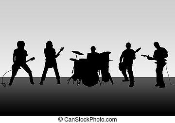 קבץ, מוסיקלי
