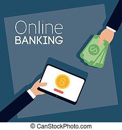 קדור, בנקאות אונליין, טכנולוגיה