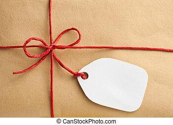 קופסה, פתק, מתנה, טופס