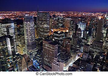 קו רקיע עירוני, אנטנה, השקפה של עיר