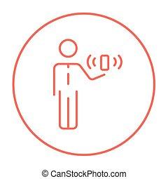 קו, icon., ניידות