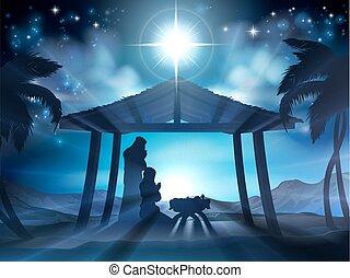 קטע של חג ההמולד, לידה