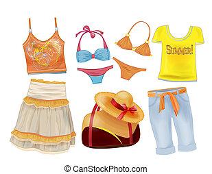 קיץ, קבע, ילדות, בגדים