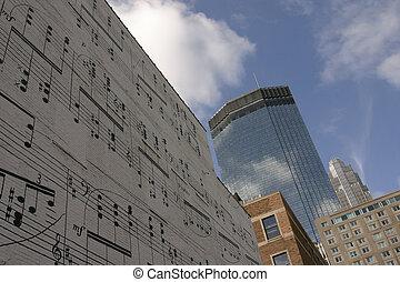 קיר, מוסיקה