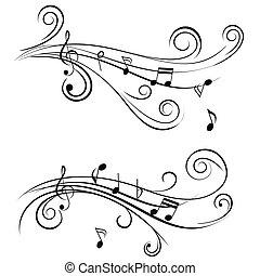 קישוטי, רואה, מוסיקה