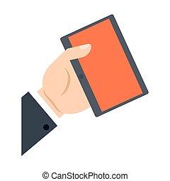 קנה, קדור, תקשורת, יד מחזיקה, אונליין