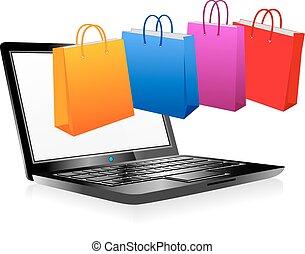 קניות אונליין, אינטרנט