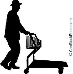 קניות, איש