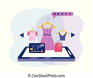 קניות, קדור, זכה, אונליין, טכנולוגיה, כרטיס