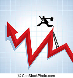 קריירה, מתקדם, גידול, בעלת, עסק