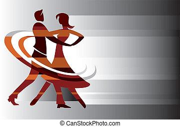 קשר, רקע, לרקוד