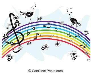 קשת, מוסיקה