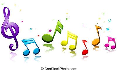 קשת, מוסיקלי