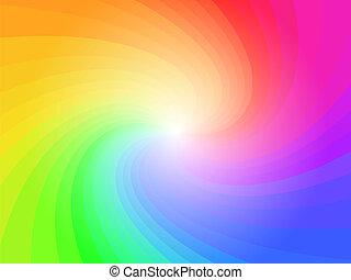 קשת, תקציר, צבעוני, תבנית של רקע