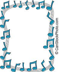 ראה, מוסיקה, גבול