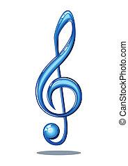 ראה, מוסיקה, מבריק