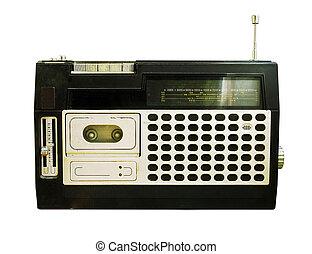 רדיו, ראטרו, recorder), (tape