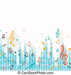 רואה, וקטור, מוסיקה, רקע