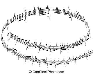 רואה, מוסיקה, 3d