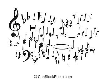 רואה, מוסיקה, (vector)