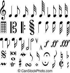רואה, מוסיקלי