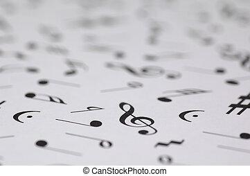 רואה, מוסיקלי, רקע