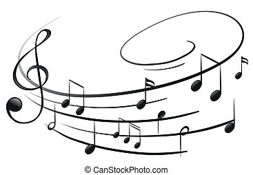 רואה, מוסיקלי, g-clef