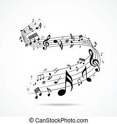 רואה, עצב, מוסיקלי, הפרד