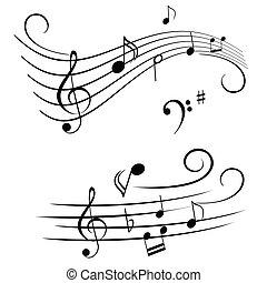 רואה, עצור, מוסיקלי