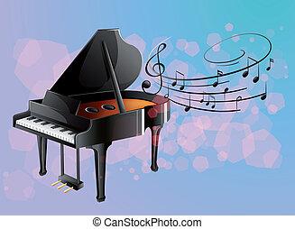 רואה, פסנתר, מוסיקלי