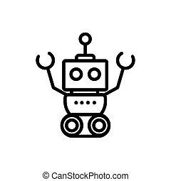 רובוט, קמיע, אופי, עיצוב ליניארי, תגמר, טכנולוגיה, מלאכותי