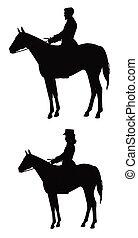 רוכבים של סוס