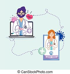 רופא אונליין, בריאות