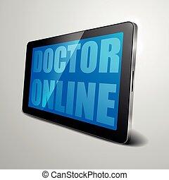 רופא, אונליין