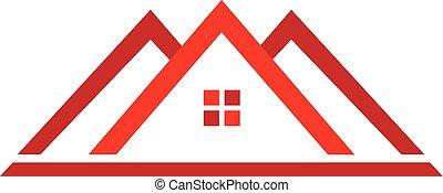 רכוש, לוגו, דיר, אמיתי