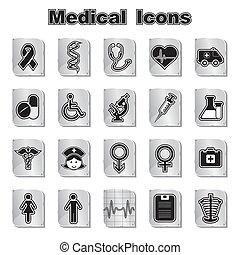 רפואי, קבע, איקונים