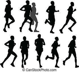 רצים של מרתון