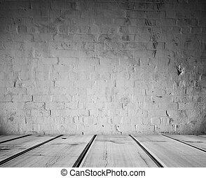 רצפה, קיר