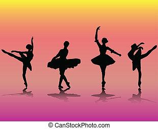 רקדנים של בלט