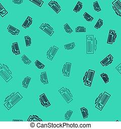 רקע., דוגמה, תחומים, דפוסית, פנקס צ'קים, seamless, קו, כתוב, סמוך, וקטור, ריק, בדוק, איקון, תבנית, הפרד, ירוק, עמוד, שחור, fill., טופס, המחאה