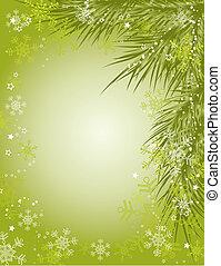 רקע, וקטור, חג המולד