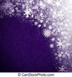 רקע, חג המולד, השלג