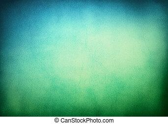 רקע, ירוק כחול