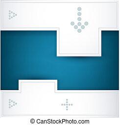 רקע כחול, וקטור, לבן
