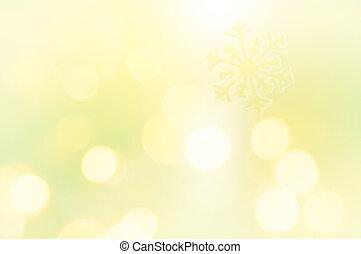 רקע, להב, פתיתת שלג, צהוב